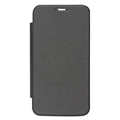KTC Flip Cover For Micromax A76 Canvas Fun  Black  available at Paytm for Rs.182