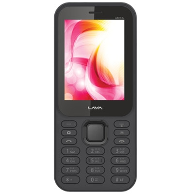 Lava ARC 12 Plus Dual Sim Phone (Black)