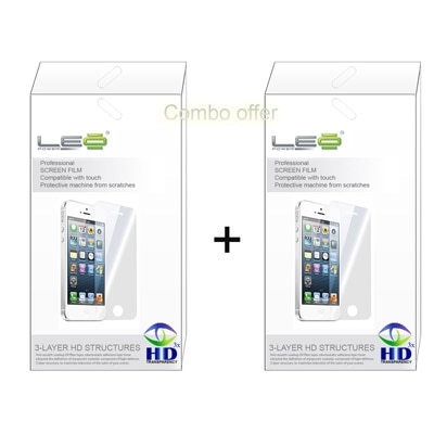 Leo Power Diamond Screen Guard For Samsung Champ Neo Duos C3262 (Pack Of 2)