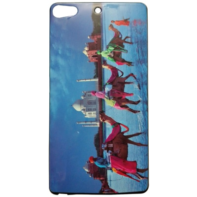 MannMohh Camel Tajmahal Soft Back Cover For Gionee Elife S7