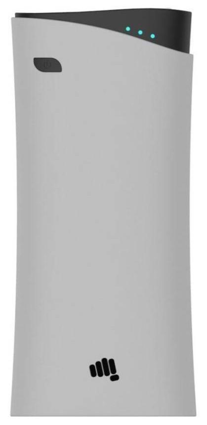 Micromax 13000 mAh Power Bank (MXAPGre1301, 13000 Mah Grey) (Grey, Lithium-ion)