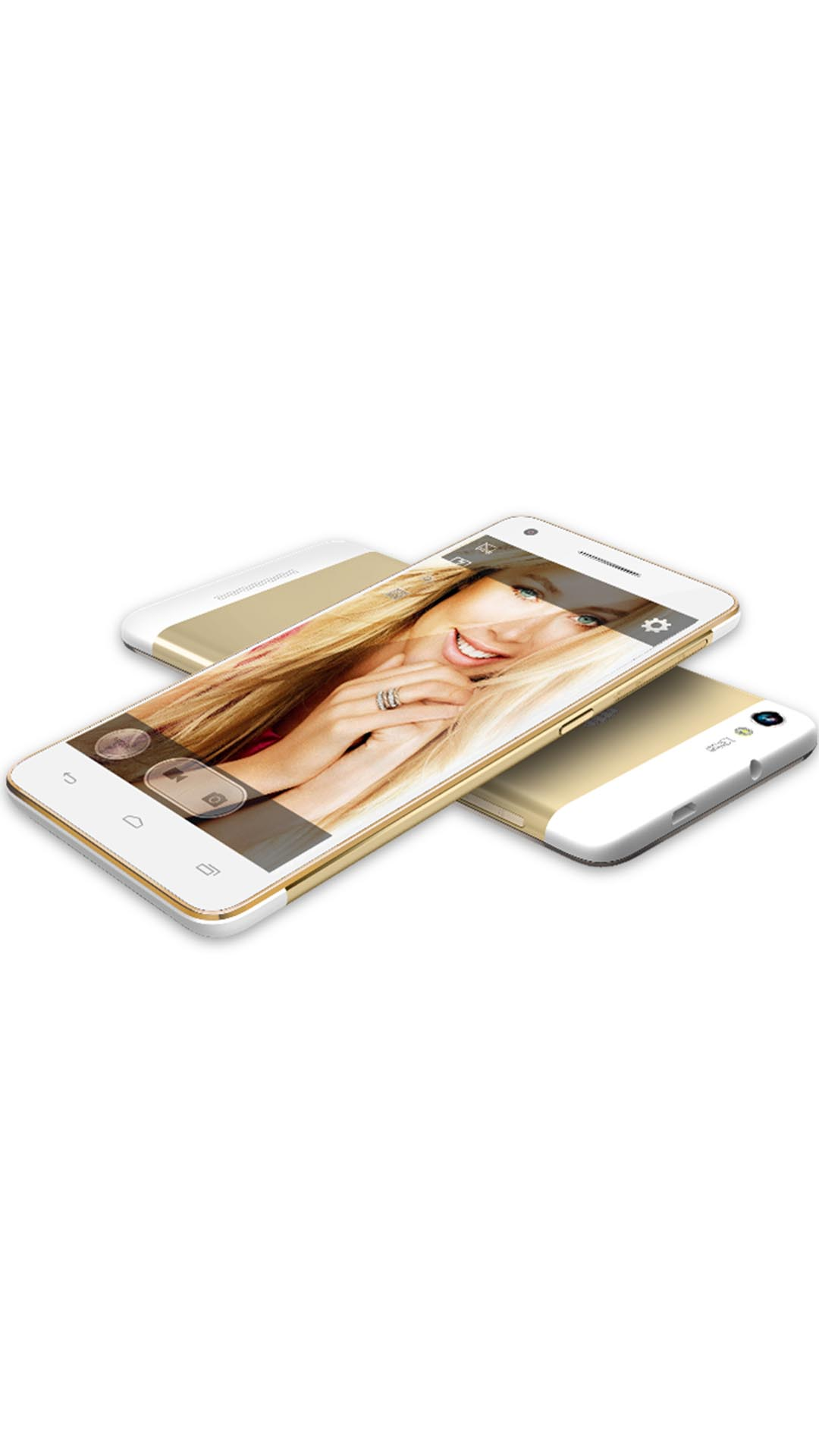 Micromax Canvas 4 Plus A315 16GB White and Gold
