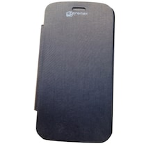 Micromax Flip Cover For Micromax Canvas 4 210 (Black)
