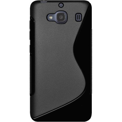 Mocell Back Cover For Xiaomi Redmi 2S (Black)