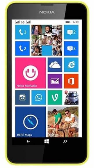 Nokia Lumia 630 Single SIM (Yellow) By Paytm @ Rs.8,000