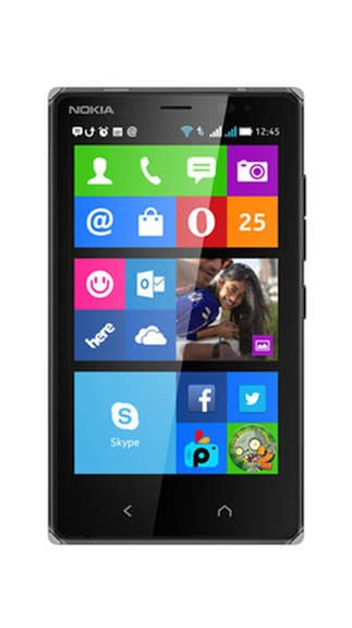 Nokia X2 Dual SIM (Black) By Paytm @ Rs.8,500