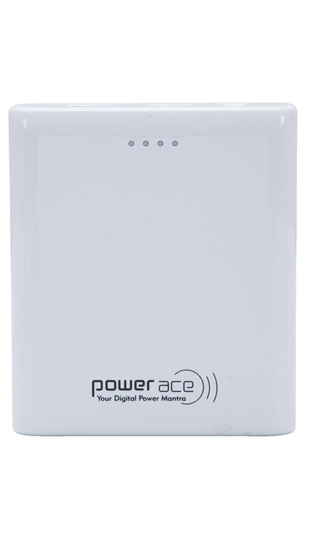 Power Ace White PRP 10400 mAh Power Bank