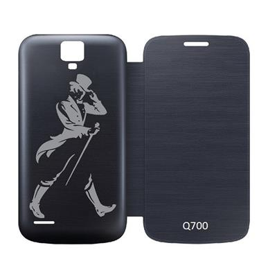 Printed Villa Flip Cover For XOLO Q700  Black  available at Paytm for Rs.188