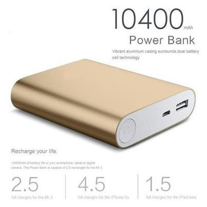 Probeatz 10400 mAh Power Bank Golden