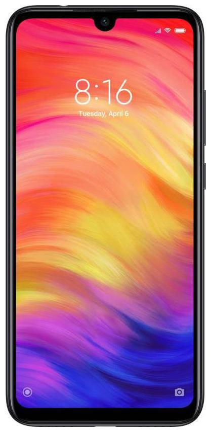 Redmi Note 7 Pro 6 GB 128 GB Space Black