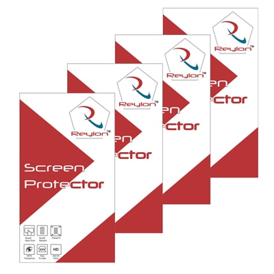 Reylon Clear Screen Guard For Samsung Champ Neo Duos C3262 (Pack Of 4)
