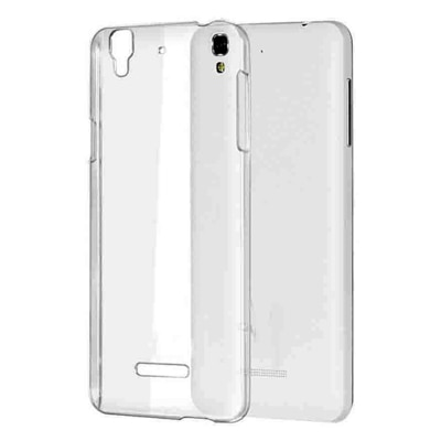 Rise Back Cover For Micromax Yu Yuphoria 5010 (Transparent)