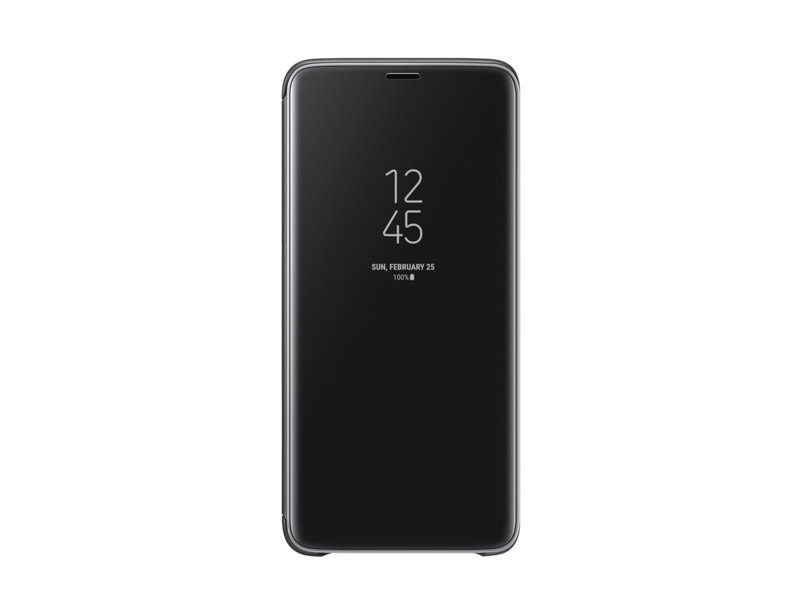 Samsung Flip cover For Samsung galaxy s9 Black