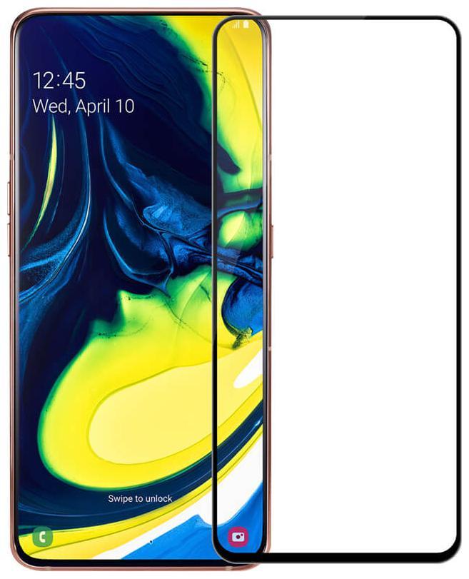 Samsung Galaxy A80 Edge to Edge 6D Tempered Glass