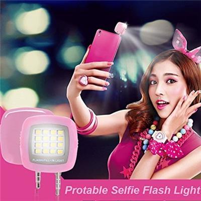 SmartPhone LED Selfie Flashlight (Black)
