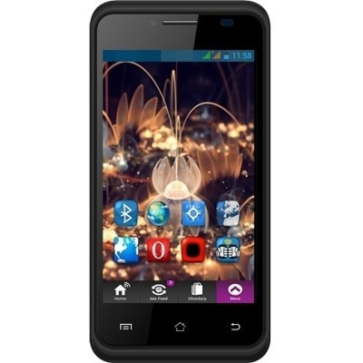 Swipe Konnect 512 MB Mobile (Black)
