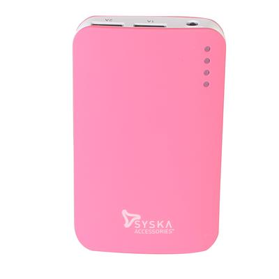 Syska Power Elite 78 7800 mAh Power Bank  Red  available at Paytm for Rs.1249