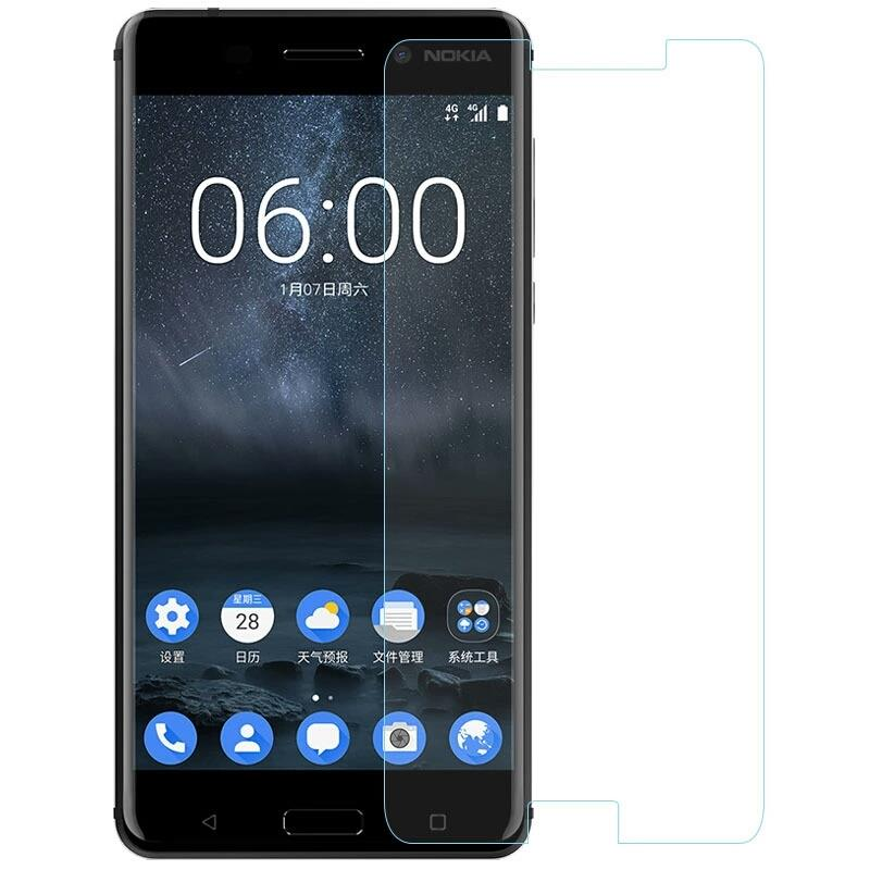 TEMPERED GLASSES Edge To Edge Tempered Glass For Nokia 6.1