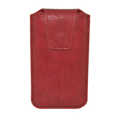 Totta Pouch For Celkon A119Q Signature HD (Red)
