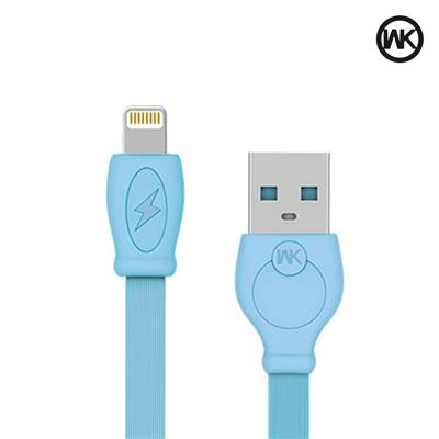 WK Super Fast 0.97 m (3.2 ft) Lightning Cable for iPhone 7 / 7 Plus / 6s Plus / 6s / 6 Plus/ 6 / 5s / 5c / 5 / iPad Pro / iPad Air / iPad Air 2 / iPad mini, Super fast charging up to 1.2Amps