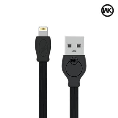 WK Super Fast0.97 m (3.2 ft) Lightning Cable for iPhone 7 / 7 Plus / 6s Plus / 6s / 6 Plus/ 6 / 5s / 5c / 5 / iPad Pro / iPad Air / iPad Air 2 / iPad mini, Super fast charging up to 1.2Amps 1