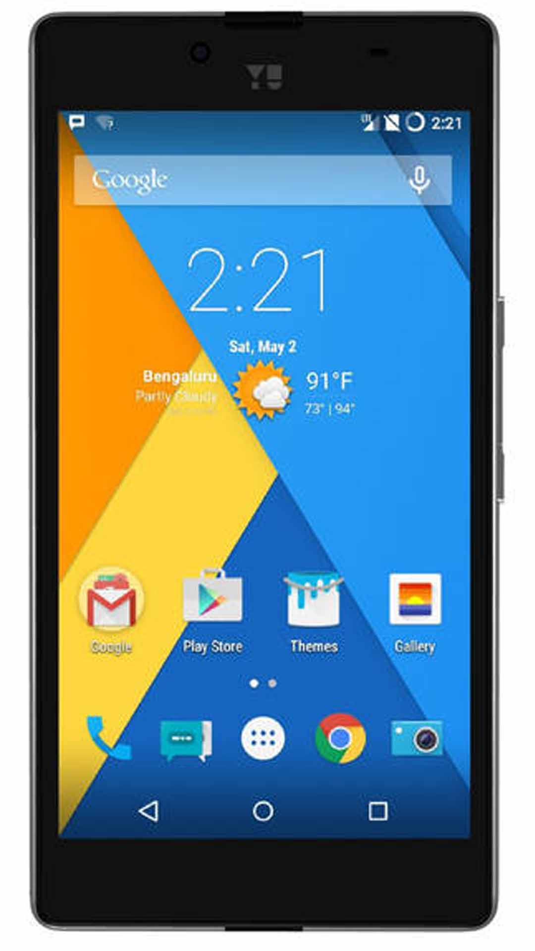 YU Yuphoria YU5010 16 GB (Buffed Steel)