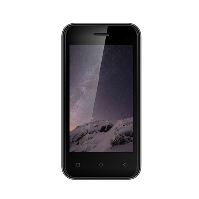 Zen Admire Curve 4 GB (Grey) With Free Back Cover