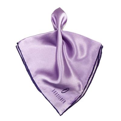 Orosilber Purple Lavender Fancy Pocket Silk