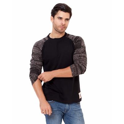 Elaborado Classy Black T-Shirt For Men