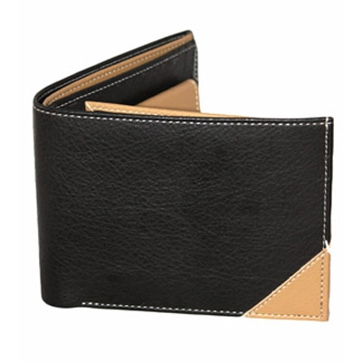 K London Black Beige Men's Wallet