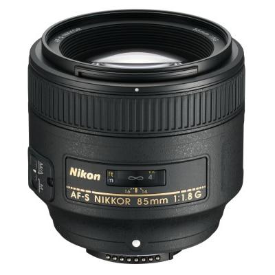Nikon AF-S Nikkor 85 mm f/1.8G Lens (Black) Image