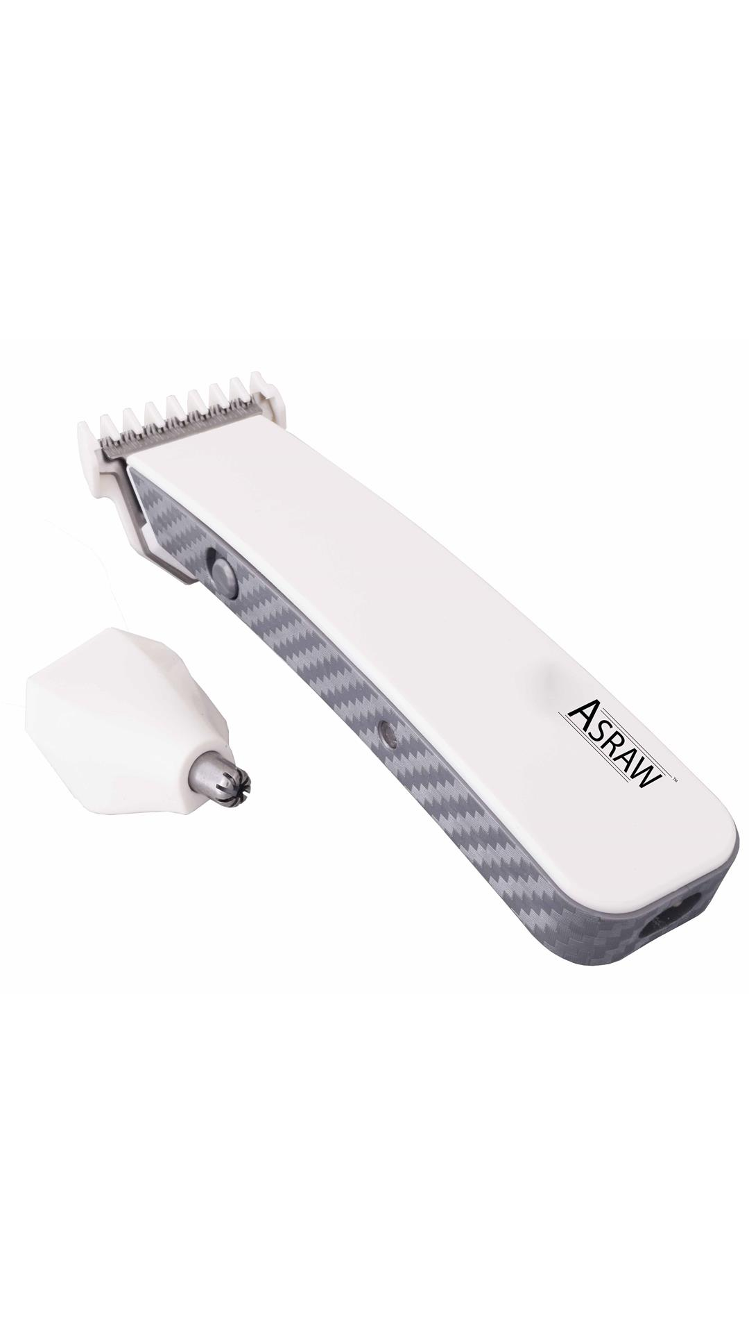 ASRAW ASL078 Trimmer For Men/Women (White)