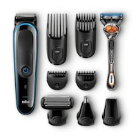 Braun Multi Grooming Kit MGK3080  9-in-one trimmer for precision styling from head to toe
