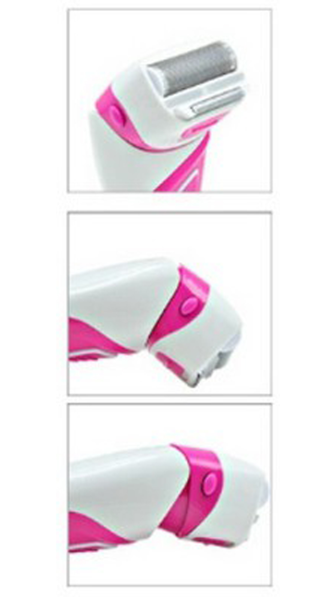 Mr.Plus On-The-Go Shaver For Women (Pink)