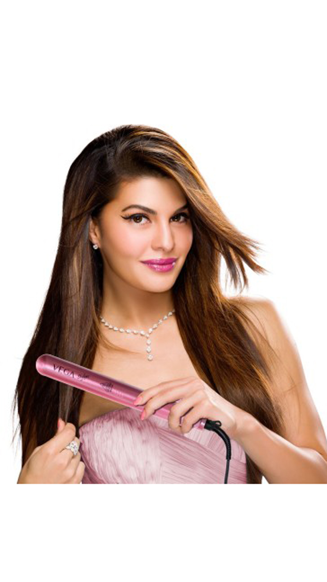 Vega VHSH-01 Hair Straightener Men/Women (Pink)