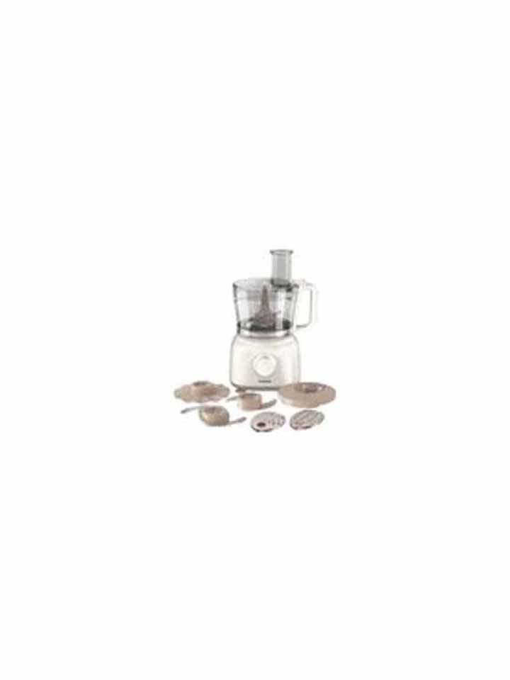Philips HR 7627 650 W Food Processor (White)