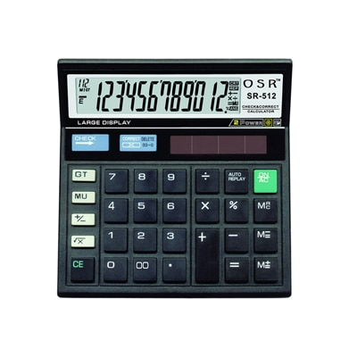 how to turn off orpat ot 555t calculator
