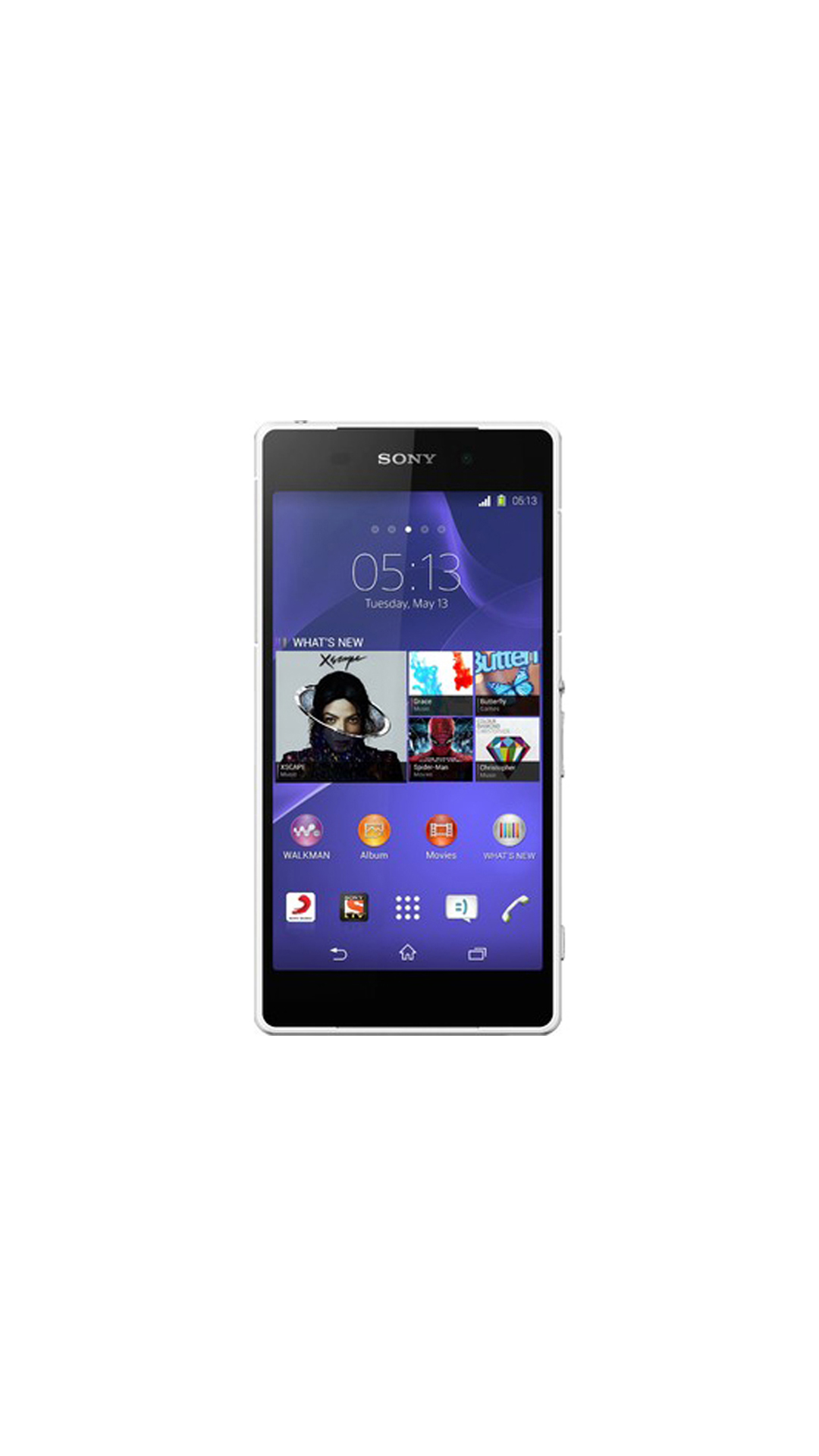 Sony Xperia Z2 Single SIM 16 GB (White)