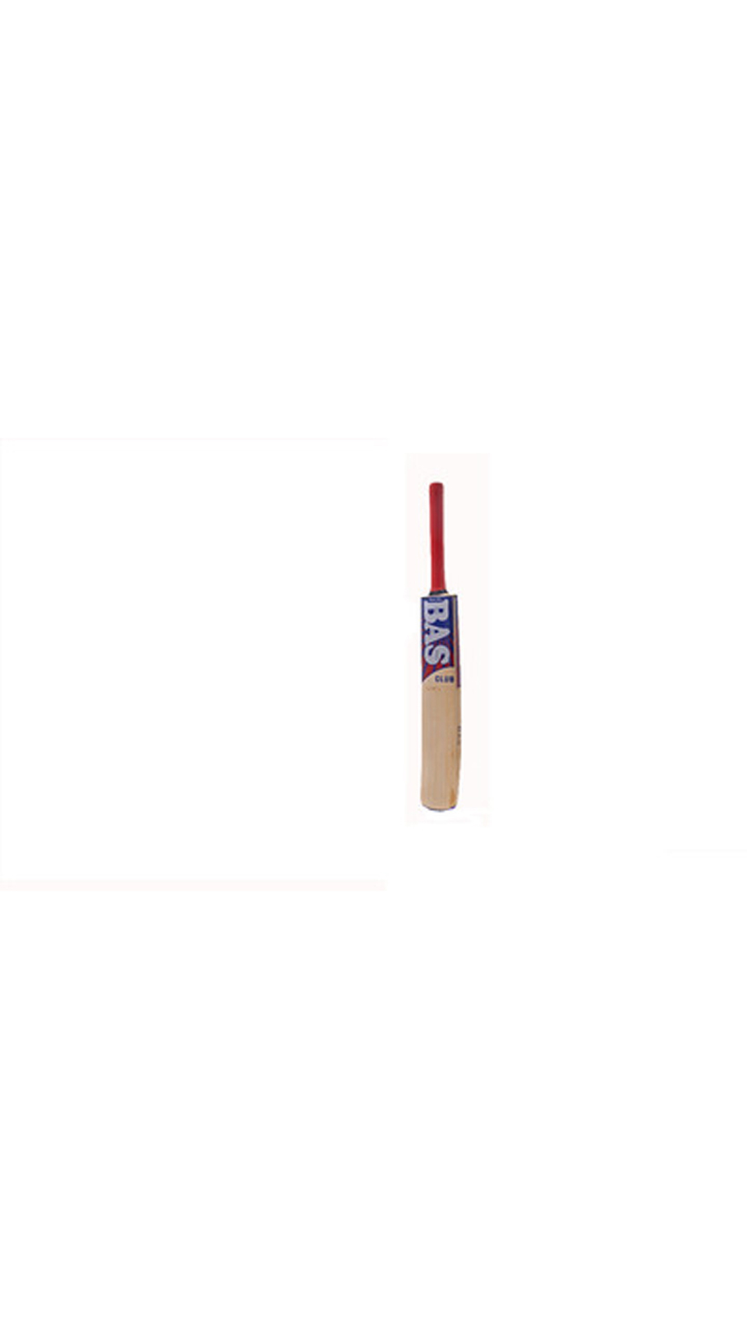 BAS Vampire Crbew18 English Willow Cricket Bat-Multicolor (Size-6)