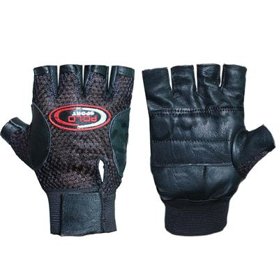 Pickadda Leather Multipurpose GYM Gloves With Padded Palm Support &...
