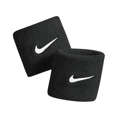 Combo of 2 Black Wristband with Dri-Fit fabric