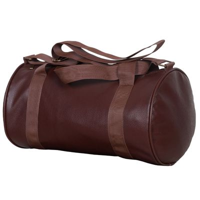 Dee Mannequin Brown Leather Rite Gym Bag