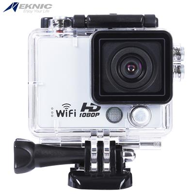Eknic A3 Full HD WiFi 1080P Waterproof Remote Sport Action Camera with Storage Box