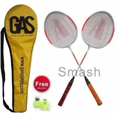 GAS SMASH BADMINTON RACKET PACK OF 2
