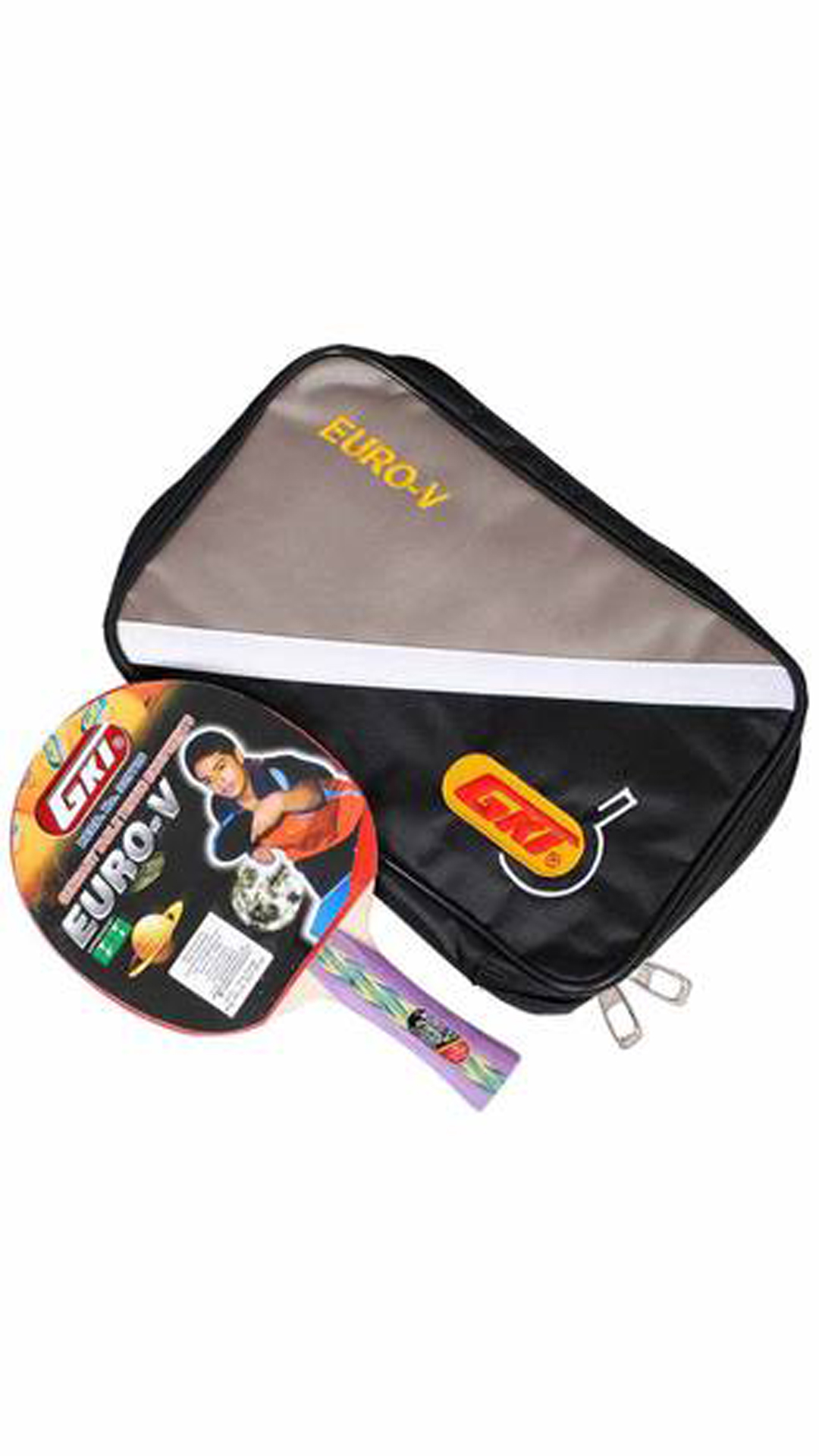 GKI Euro V Table Tennis Bat With Soft Tatron Cover