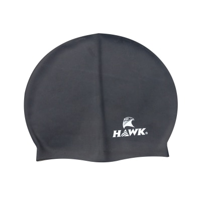 HAWK SWIMMING CAP BLACK