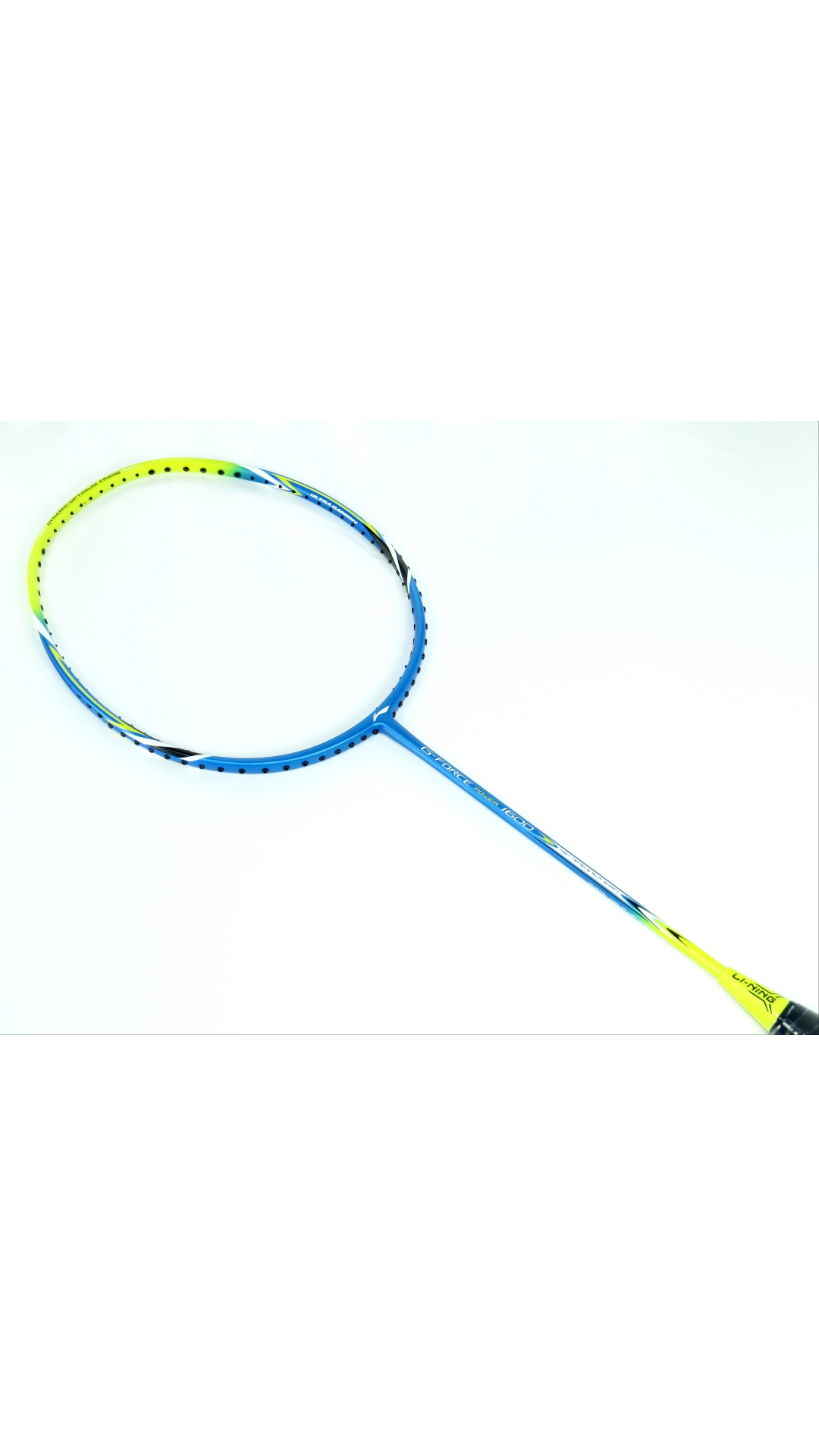 Li-Ning G-Force Power 1600 Badminton Racquet With One Li-Ning Over Grip Free