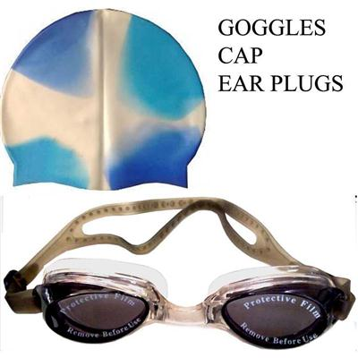 Protoner Swimming Set Goggles & Cap