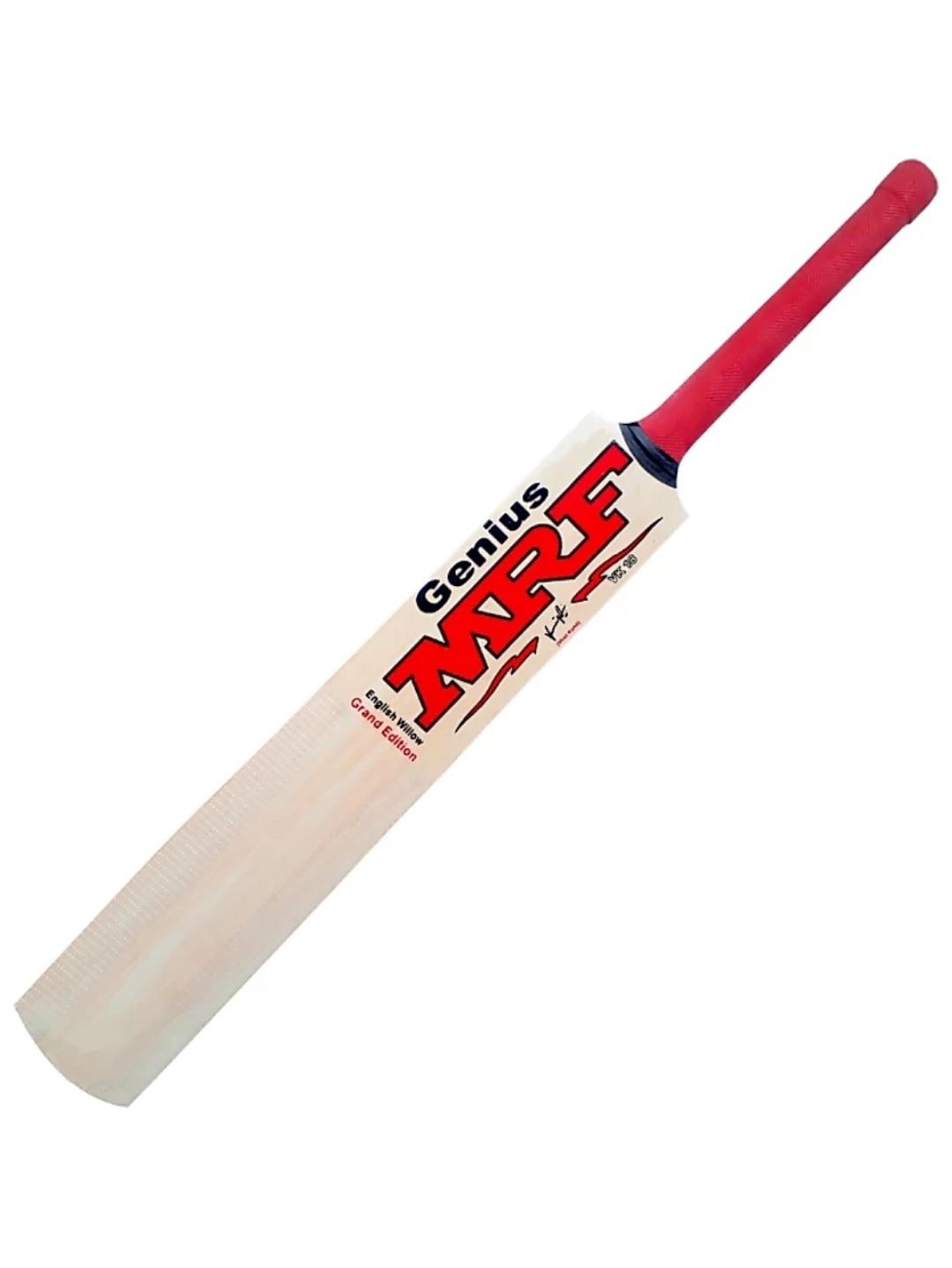 RK Enterprises MRF Transparent Sticker Poplar/Popular Willow Cricket Bat (For Tennis Ball) Size-6 (For Age Group 11-13 Yrs)