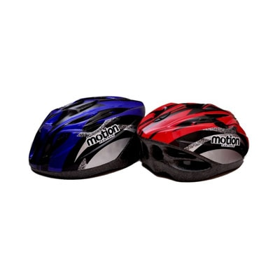Sass Yellow Cycling Helmet-Red And Blue